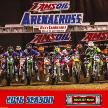 2016 Arenacross Registration